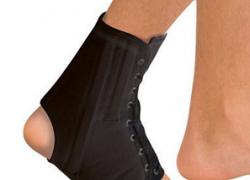 Бандаж на голеностопный сустав Тривес Т-8608/1 со шнуровкой