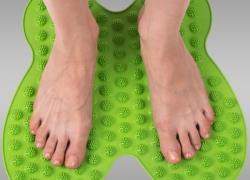 Массажный коврик для ног Бабочка