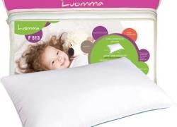 Подушка ортопедическая с эффектом памяти детская Экотен LumF-513