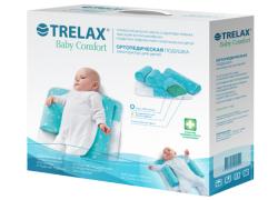 Подушка ортопедическая Trelax Baby Comfort для детей до 6 месяцев (конструктор)