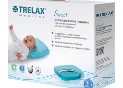 Подушка ортопедическая Trelax Sweet для детей от 5 до 18 месяцев