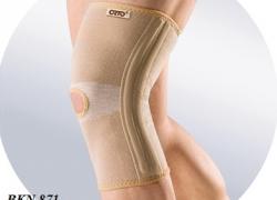 Бандаж на колено Orto BKN 871 эластичный с ребрами жесткости