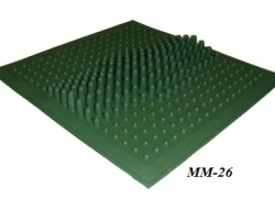 Коврик массажный ММ-26 резиновый
