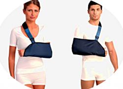 Бандаж плечевой Тривес Т-8102 поддерживающий при травмах рук (косынка)